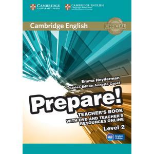 Prepare! Level 2. Książka Nauczyciela + DVD + Teacher's Resources Online