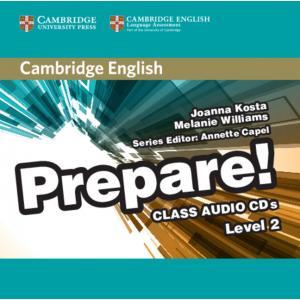 Prepare! Level 2. Class Audio CD