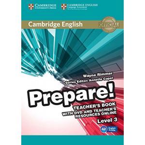 Prepare! Level 3. Książka Nauczyciela + DVD + Teacher's Resources Online