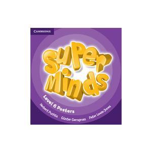 Super Minds 6. Plakaty