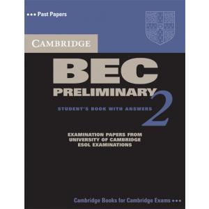 Cambridge BEC Preliminary 2. Podręcznik z Odpowiedziami