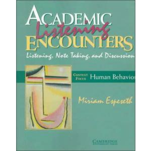 Academic Encounters Human Behavior Note Listening