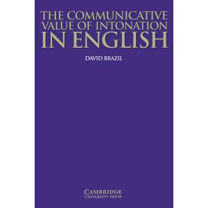 Communicatice Value of Intonation in English