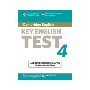 Cambridge English Key (KET) 4. Podręcznik bez Klucza