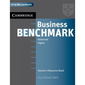 Business Benchmark Advanced BULATS and BEC Higher. Teacher's Resource Book