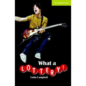 What a Lottery! + CD. Cambridge English Readers Starter