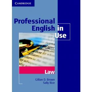 Professional English in Use Law. Książka z Kluczem