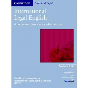 International Legal English.    Książka Nauczyciela