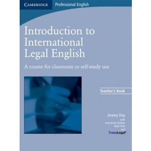 Introduction To International Legal English.    Książka Nauczyciela