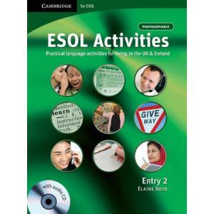 ESOL Activities Entry 2. Książka + CD