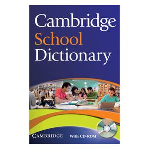Cambridge School Dictionary + CD