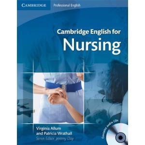 Cambridge English for Nursing Intermediate+. Edycja Polska. Podręcznik + CD + Słowniczek Polsko-Angielski