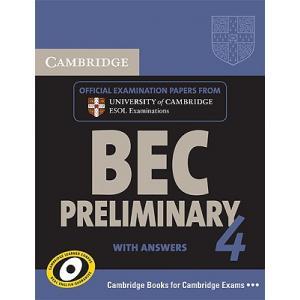 Cambridge BEC Preliminary 4.   Self-Study Pack (Podręcznik z Odpowiedziami + CD)