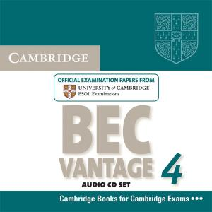 Cambridge BEC Vantage 4.   CD do Podręcznika