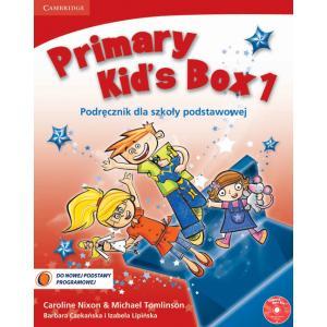 Primary Kids Box 1. Podręcznik + Song CD