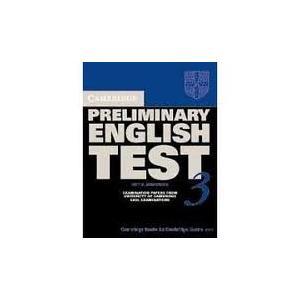 Cambridge Preliminary English Test 3.   Podręcznik z Odpowiedziami