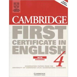 Cambridge FC Pract.Tests 4 sb+key