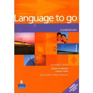 Language to Go Elementary.    Podręcznik