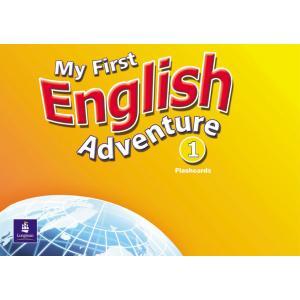 My First English Adventure 1.   Flashcards