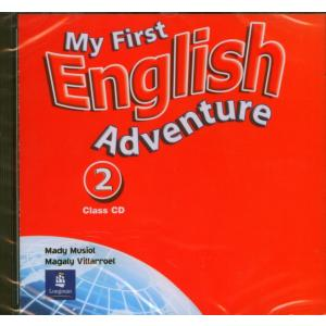 My First English Adventure 2.   CD do Podręcznika
