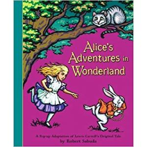Alice in Wonderland Pop-Up Book /książka rozkładana/
