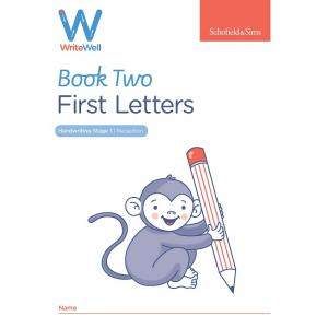 S&S Early Years Foundation Letters Writewell 2:First letters