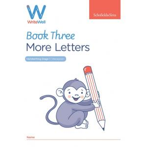 S&S Early Years Foundation Letters Writewell 3:More letters