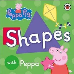 Peppa Pig: Shapes. Board book