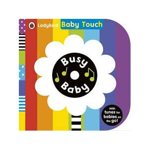 Baby Touch: Busy Baby. Book with Audio CD