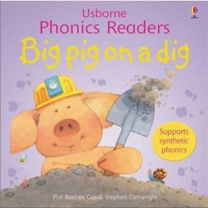 Big Pig on a Dig – Usborne Phonics Readers