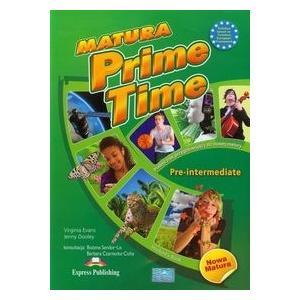 Matura Prime Time Pre-Intermediate. Podręcznik + E-book