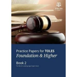 Practice Papers for TOLES Foundation & Higher. Book 2