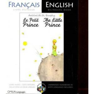 LF/LA Petit Prince / Little Prince książka + Audio CD