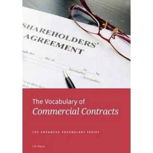 The Vocabulary of Commercial Contracts