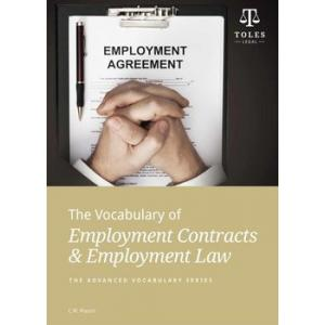 The Vocabulary of Employment Contracts & Employment Law