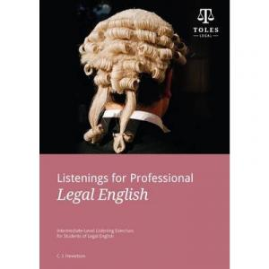 Listenings for Professional Legal English + CD