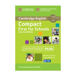 Compact First for Schools 2nd Edition. Presentation Plus DVD-ROM