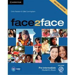 Face2Face Pre-Intermediate. Podręcznik + DVD