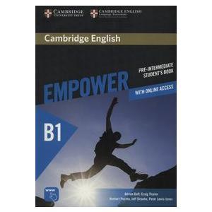 Empower Pre-Intermediate.  Podręcznik + Online Assessment and Practice + Ćwiczenia Online