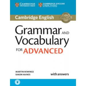 Grammar and Vocabulary for Advanced. Podręcznik z Kluczem + CD