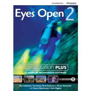 Eyes Open 2 Presentation Plus DVD