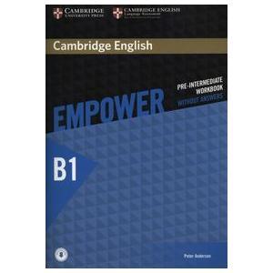 Empower Pre-Intermediate. Ćwiczenia bez Odpowiedzi + Downloadable Audio
