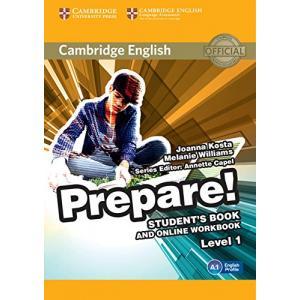 Prepare! Level 1. Podręcznik + Ćwiczenia Online