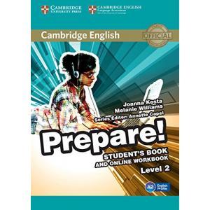 Prepare! Level 2. Podręcznik + Ćwiczenia Online