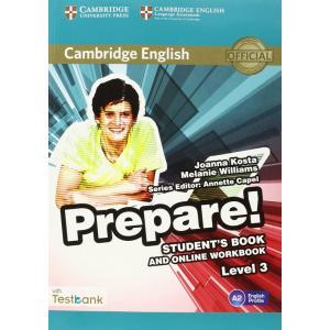 Prepare! Level 3. Podręcznik + Ćwiczenia Online + Testbank