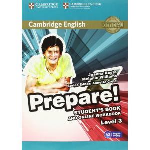Prepare! Level 3. Podręcznik + Ćwiczenia Online
