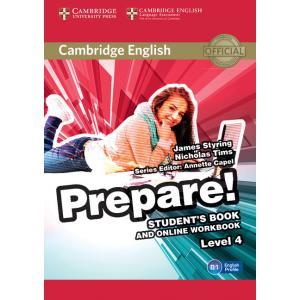 Prepare! Level 4. Podręcznik + Ćwiczenia Online