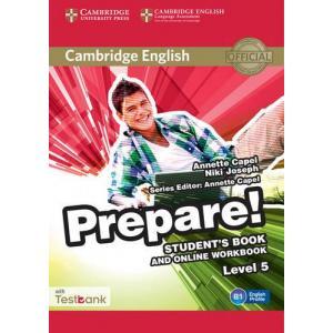 Prepare! Level 5. Podręcznik + Ćwiczenia Online + Testbank