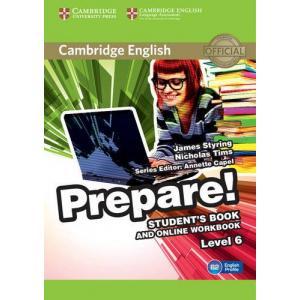 Prepare! Level 6. Podręcznik + Ćwiczenia Online