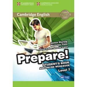 Prepare! Level 7. Podręcznik + Ćwiczenia Online